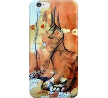 Barefoot in the rain iPhone Case/Skin