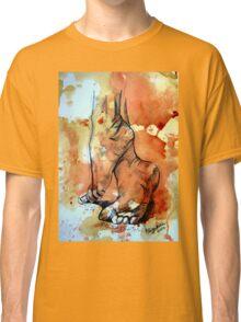 Barefoot in the rain Classic T-Shirt