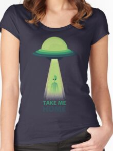 Take Me Home Women's Fitted Scoop T-Shirt