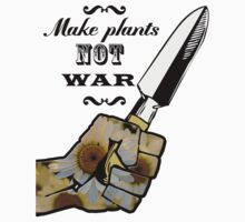 Make Plants,Not War Dictionary Art Baby Tee
