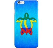 Blue Water Rasta Honu iPhone Case/Skin