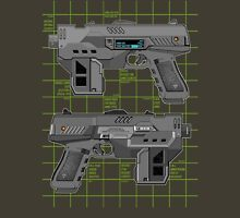 Lawgiver MKII Double Schematic Vector Unisex T-Shirt