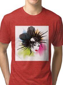 Spider Girl Tri-blend T-Shirt