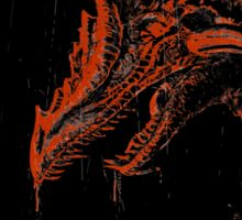 Smaug (blood red ) Sticker