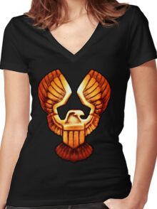 Eagle of Justice Women's Fitted V-Neck T-Shirt