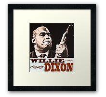 Willie Dixon Framed Print