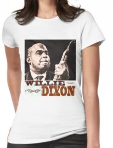 Willie Dixon Womens Fitted T-Shirt