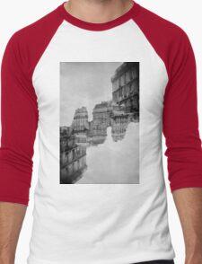 London Double #1 Men's Baseball ¾ T-Shirt