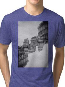 London Double #1 Tri-blend T-Shirt