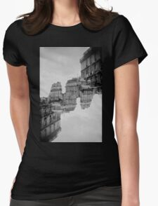 London Double #1 Womens Fitted T-Shirt