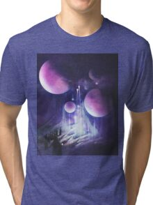 Pilgrimage of the Orbs Tri-blend T-Shirt