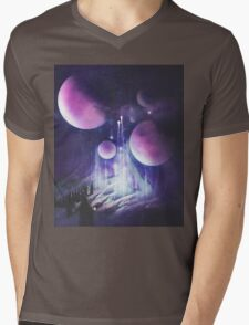 Pilgrimage of the Orbs Mens V-Neck T-Shirt