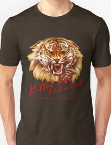 Kitty Kat Saloon Club - Charcoal T-Shirt