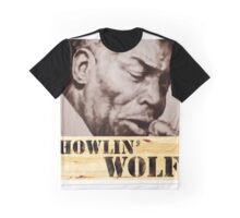 Howlin' Wolf (ink portrait ) Graphic T-Shirt