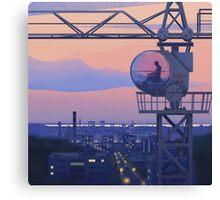 Tower Crane Canvas Print