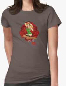 Ivy and Roses Pinup Womens Fitted T-Shirt