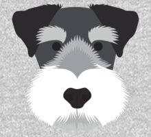 Miniature Schnauzer One Piece - Short Sleeve