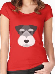 Miniature Schnauzer Women's Fitted Scoop T-Shirt