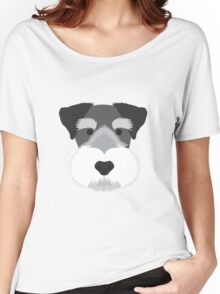 Miniature Schnauzer Women's Relaxed Fit T-Shirt
