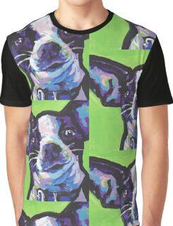 Chihuahua Dog Bright colorful pop dog art Graphic T-Shirt