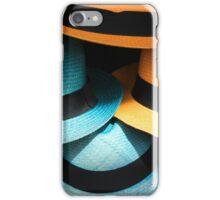Colorful Panama Hats iPhone Case/Skin