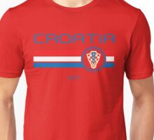 Euro 2016 Football - Croatia (Home Red) Unisex T-Shirt