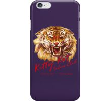 Kitty Kat Saloon Club - Purple iPhone Case/Skin