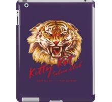 Kitty Kat Saloon Club - Purple iPad Case/Skin