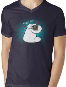 Wrinkly Baby Mens V-Neck T-Shirt