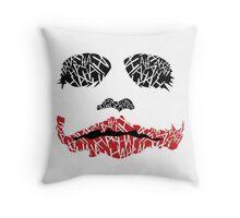 HAHAHAHAHA Throw Pillow