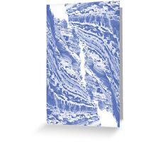 Blue Cliffs Greeting Card