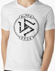 Alpha Pack (Black) - Teen Wolf Mens V-Neck T-Shirt