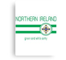 Euro 2016 Football - Northern Ireland (Away Blue) Canvas Print