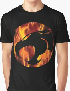 Fire cats Graphic T-Shirt
