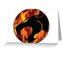 Fire cats Greeting Card