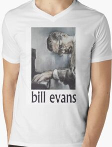 Bill Evans Mens V-Neck T-Shirt