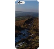 Footpath to The Grouse Inn, Longshaw iPhone Case/Skin