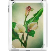 Scrap Book Calla's iPad Case/Skin