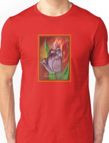 Thinking Of You - Two Tulips Unisex T-Shirt
