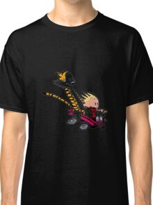 calvin and hobbes speed Classic T-Shirt