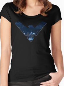 Nightwing Women's Fitted Scoop T-Shirt