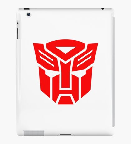Auto Bot logo iPad Case/Skin