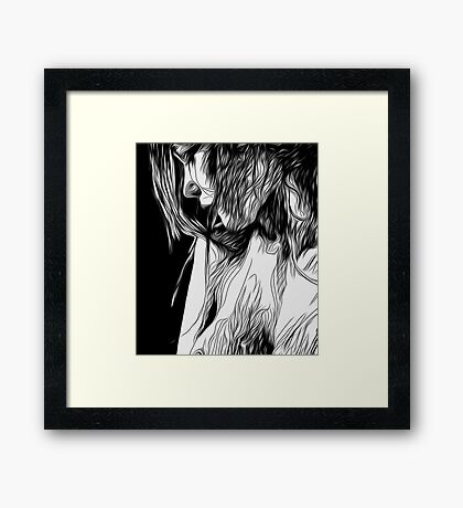 Day for us Framed Print