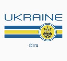 Euro 2016 Football - Ukraine (Home Yellow) Baby Tee