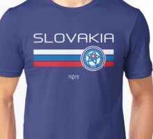 Euro 2016 Football - Slovakia (Away Blue) Unisex T-Shirt