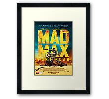 fury road poster Framed Print