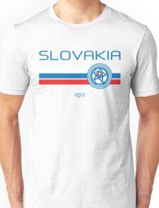 Euro 2016 Football - Slovakia (Home White) Unisex T-Shirt
