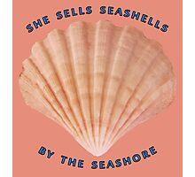 She Sells Seashells Photographic Print