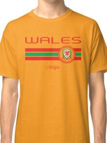 Euro 2016 Football - Wales (Away Yellow) Classic T-Shirt