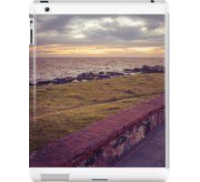 Empty Coast of Montevideo Uruguay iPad Case/Skin